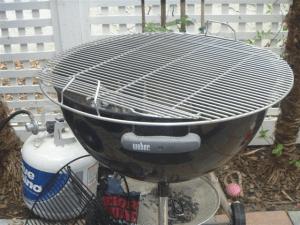 Comparison to a 22 inch grill