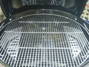 Grill with Charcoal baskets