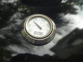Weber 26.75 low thermometer reading