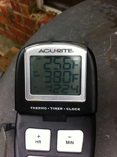 grate temperature
