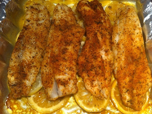 pan grilled trout