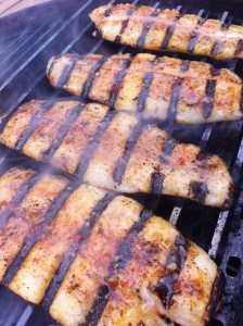 Weber Jumbo Joe Grilled Catfish