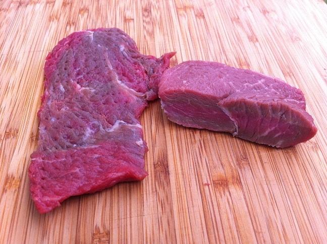 Flattened Sirloin Steak