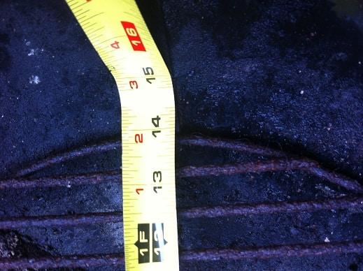 18.5 OTS Charcoal Grate Diameter