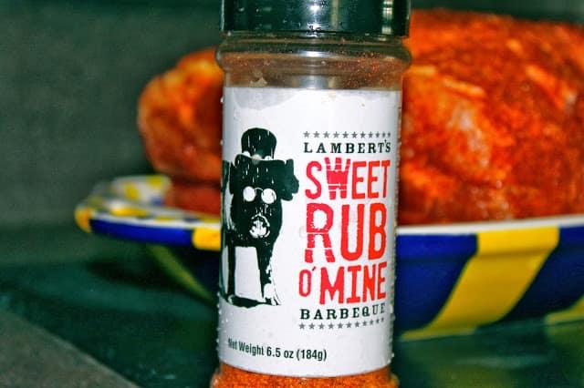 Sweet Rub O Mine