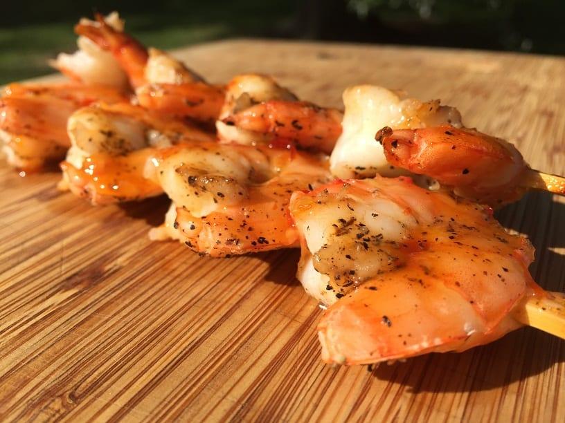 Sweet Thai Chili Shrimp