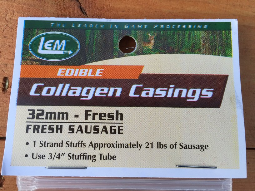 Fresh Collagen Casings