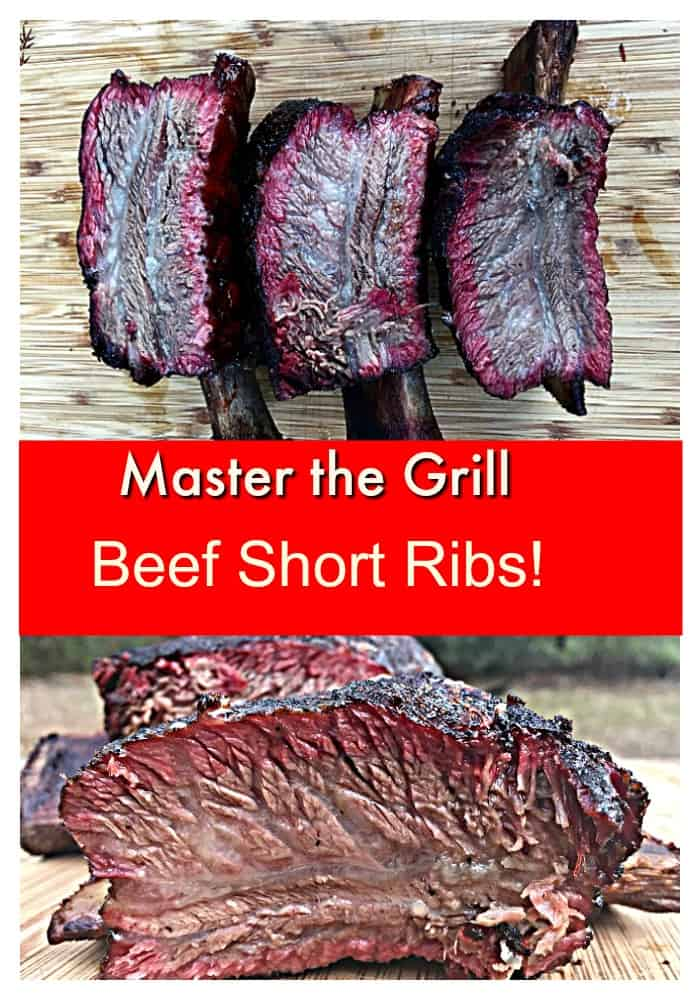 It's crazy how easy it is to make these Texas Style Beef Ribs!