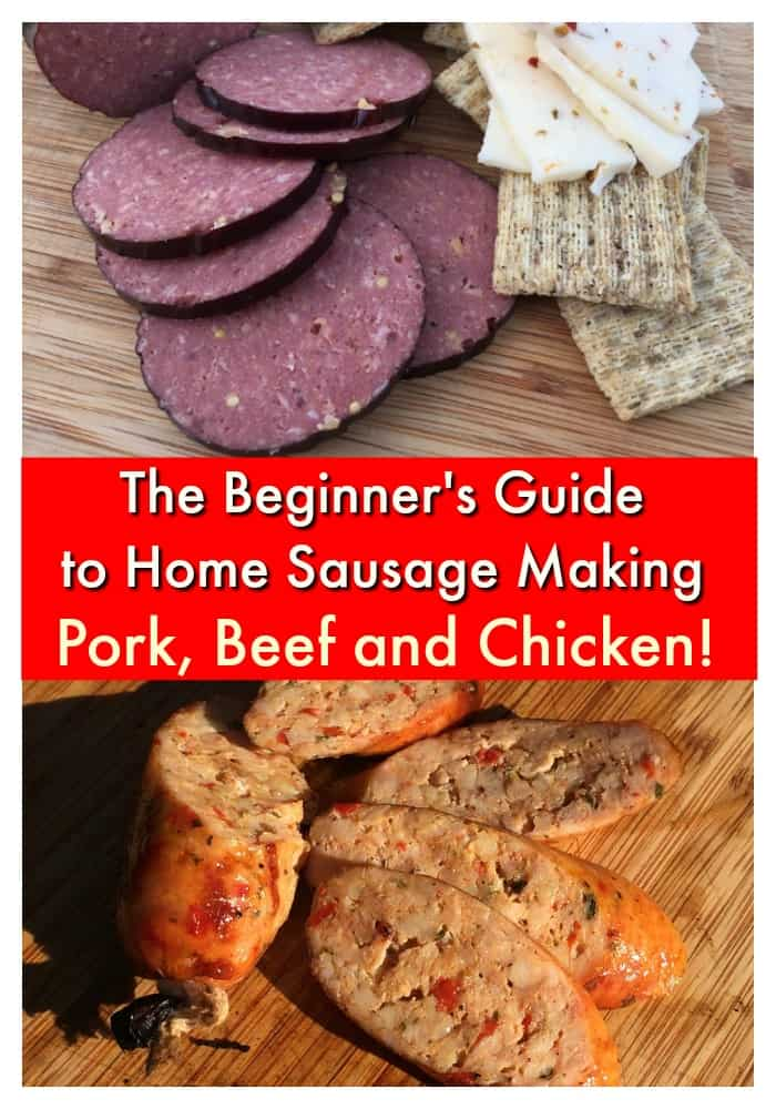 The Best Guide Available for Making Sausage (FREE!)