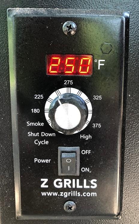 Smoke at 250F