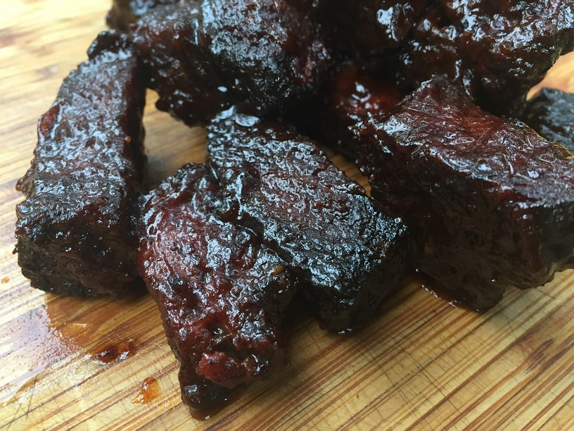 Finished Burnt Ends