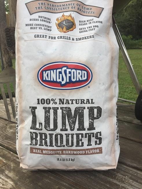Kingsford lump briquettes