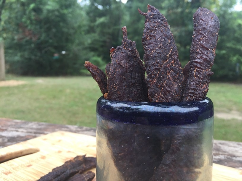 Marinated Beef Jerky