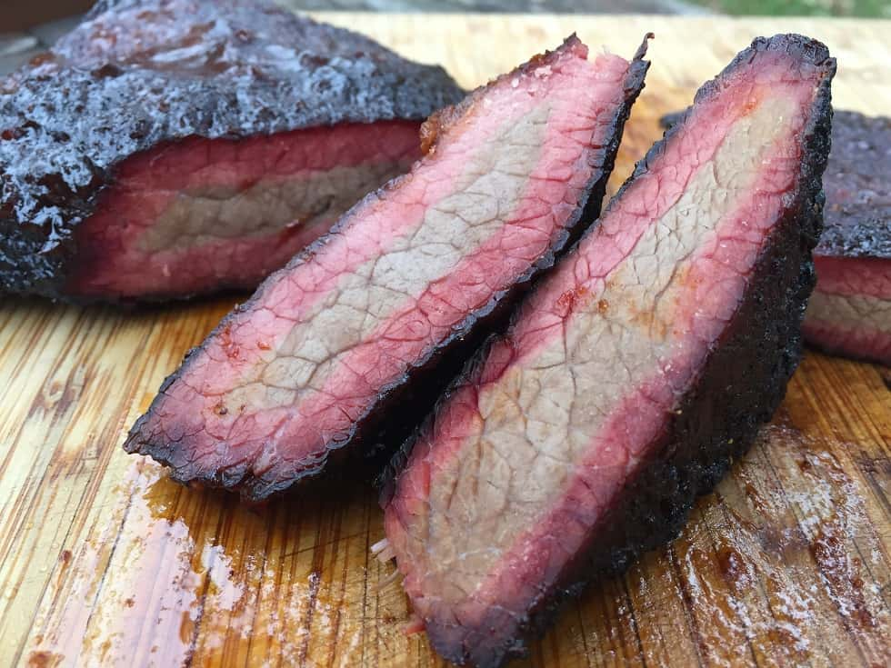 Smoke Ring on Brisket