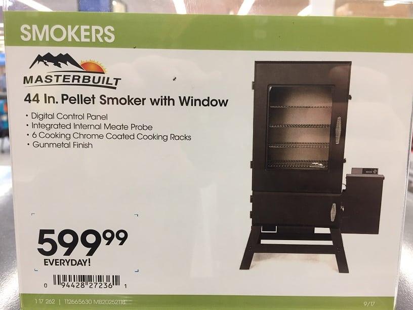 Smoker Cost