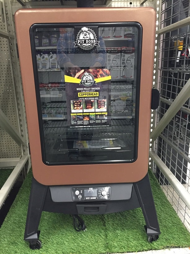 Pit Boss Copperhead 5 Vertical Pellet Smoker at WalMart
