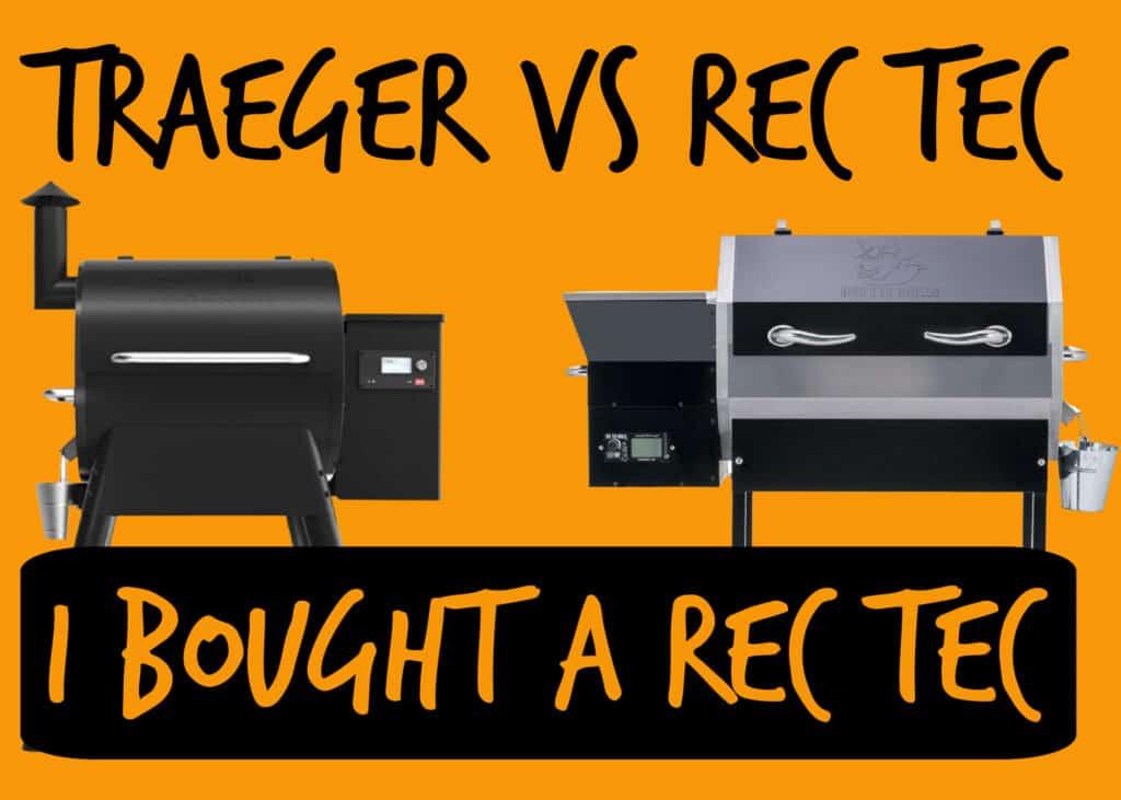 Traeger vs Rec Tec
