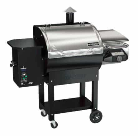 Camp Chef Smoker With Side Gas Grill