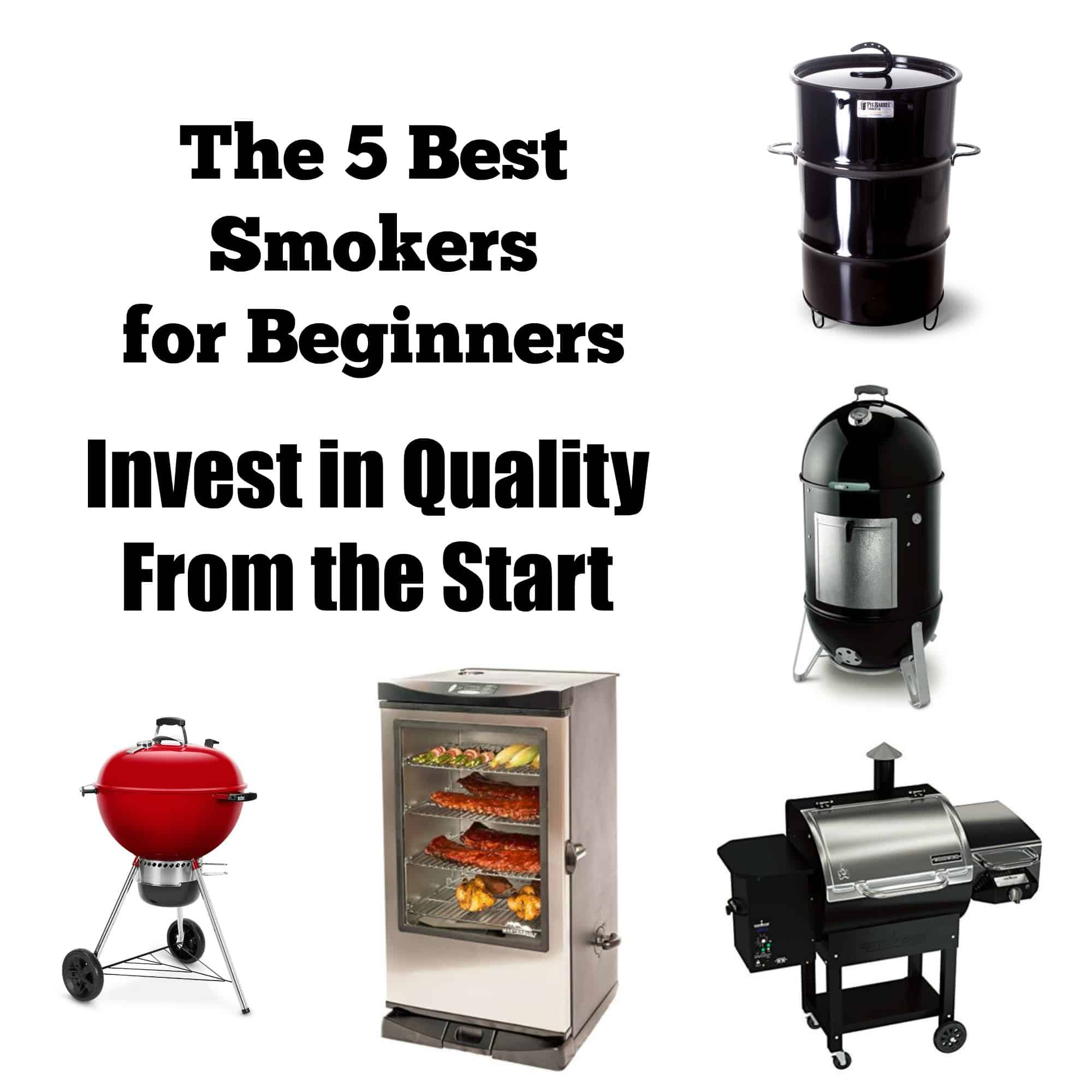 Best Smoker For Beginners Five Great Options And Two Bad