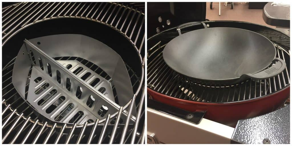 Gourmet BBQ Grate with Wok