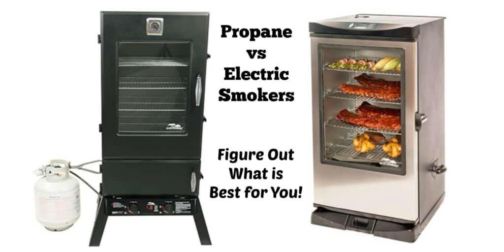 Propane vs Electric Smokers