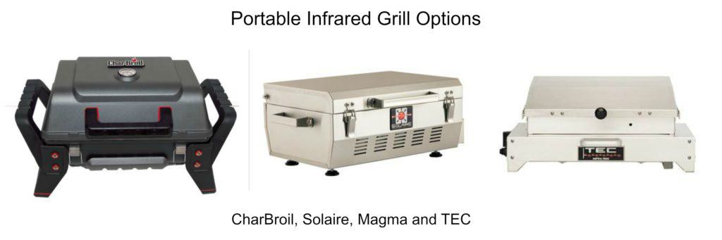 Portable Infrared Grilling Options