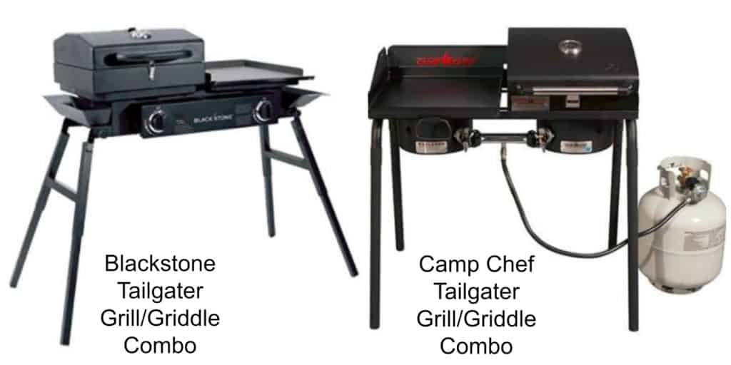 Blackstone Tailgater Vs Camp Chef One Has A Better Griddle
