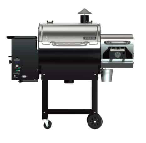 Woodwind Pellet Grill with Sear Box