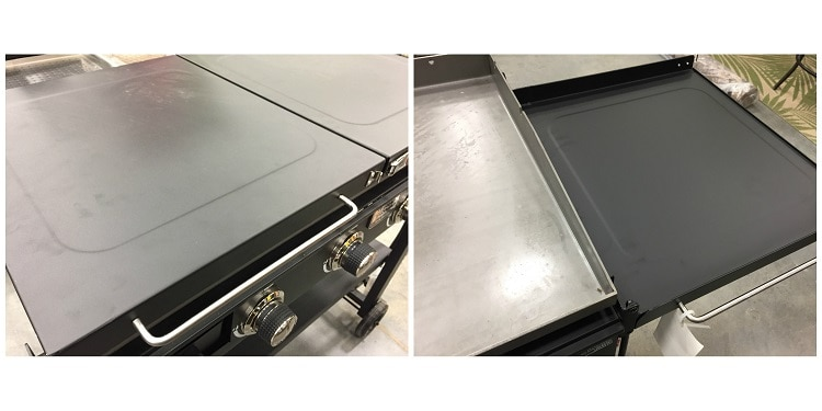 Griddle Cover and Side Tables