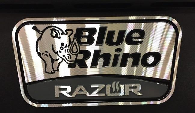 Blue Rhino Razor Griddle Logo