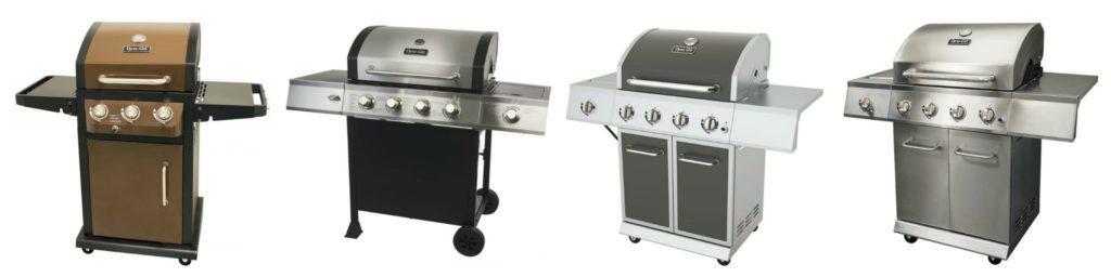 Mid Sized Dyna Glo Gas grills