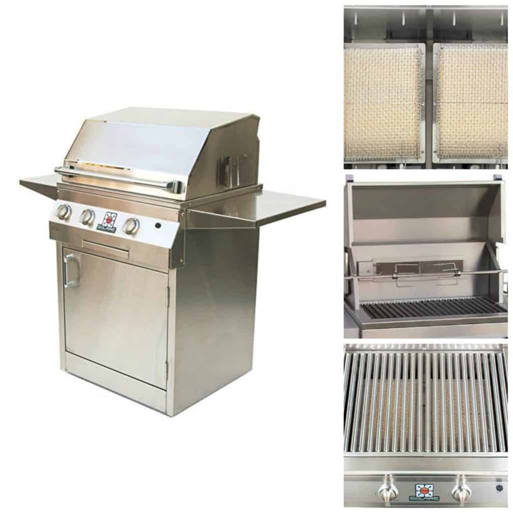 Solaire 2 burner grill