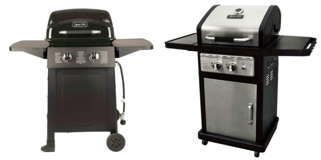 Two Burner Dyna Glo Grills