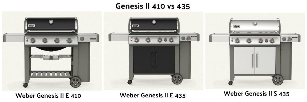 Weber Genesis II 410 vs 435