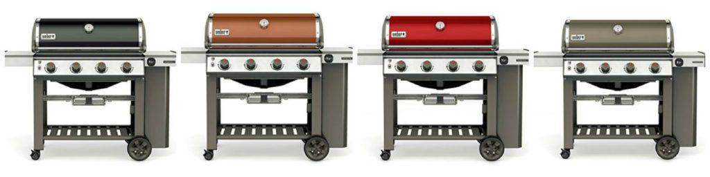 Weber Genesis II E 410 Color Options