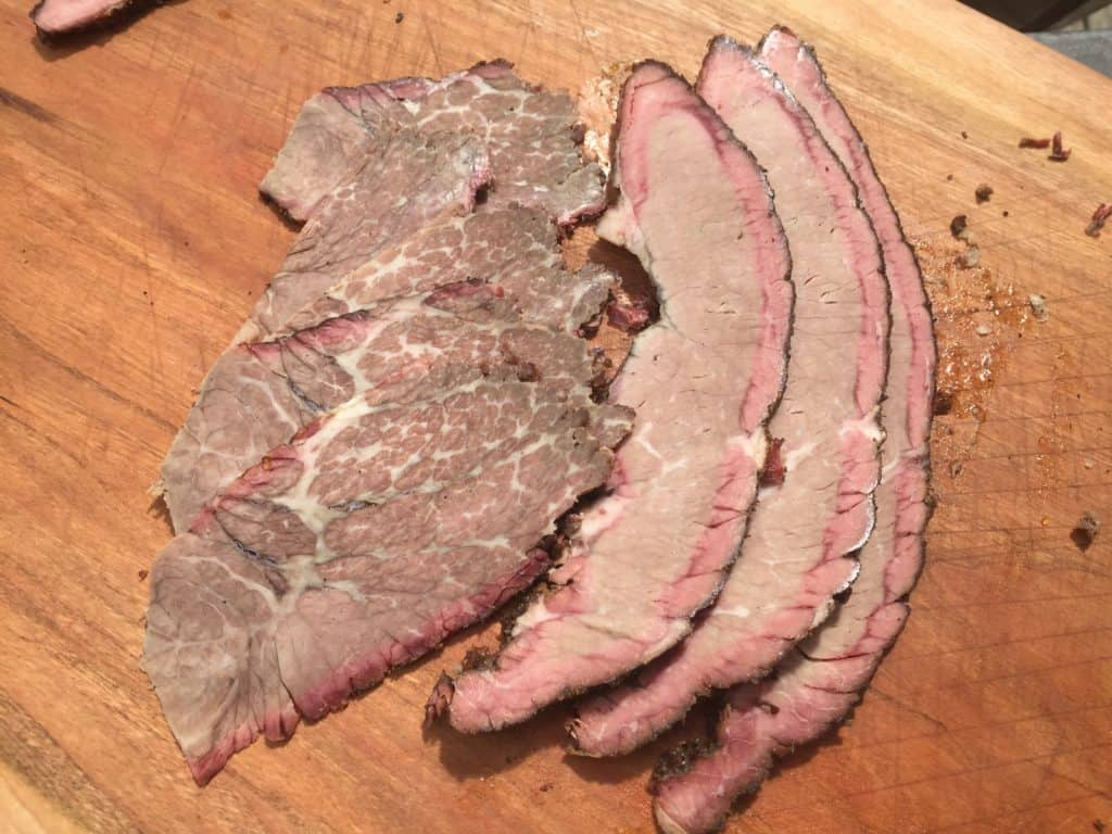 Cold Smoked Chuck and Brisket