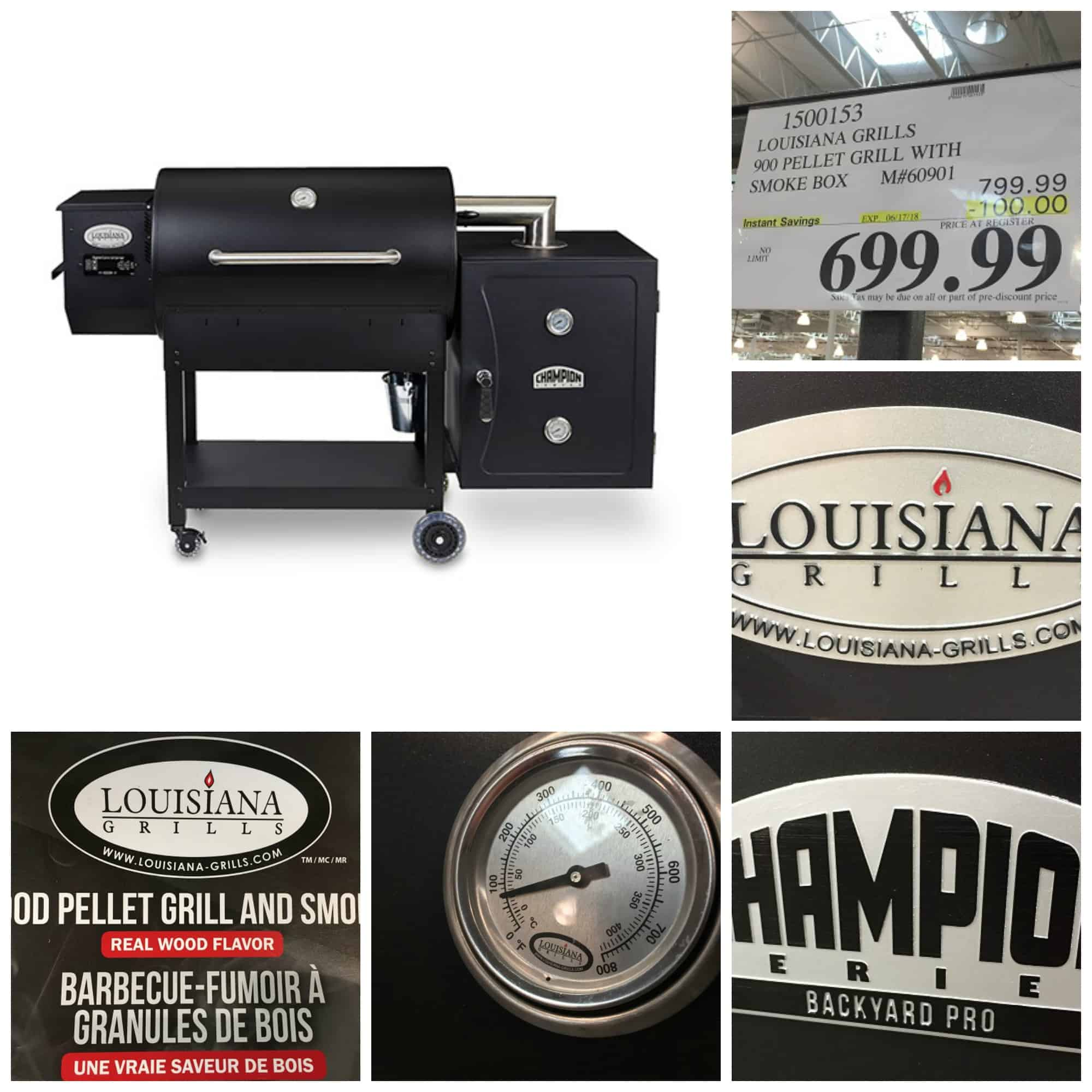 Louisiana Grills Champion Backyard Pro at Costco Review: I