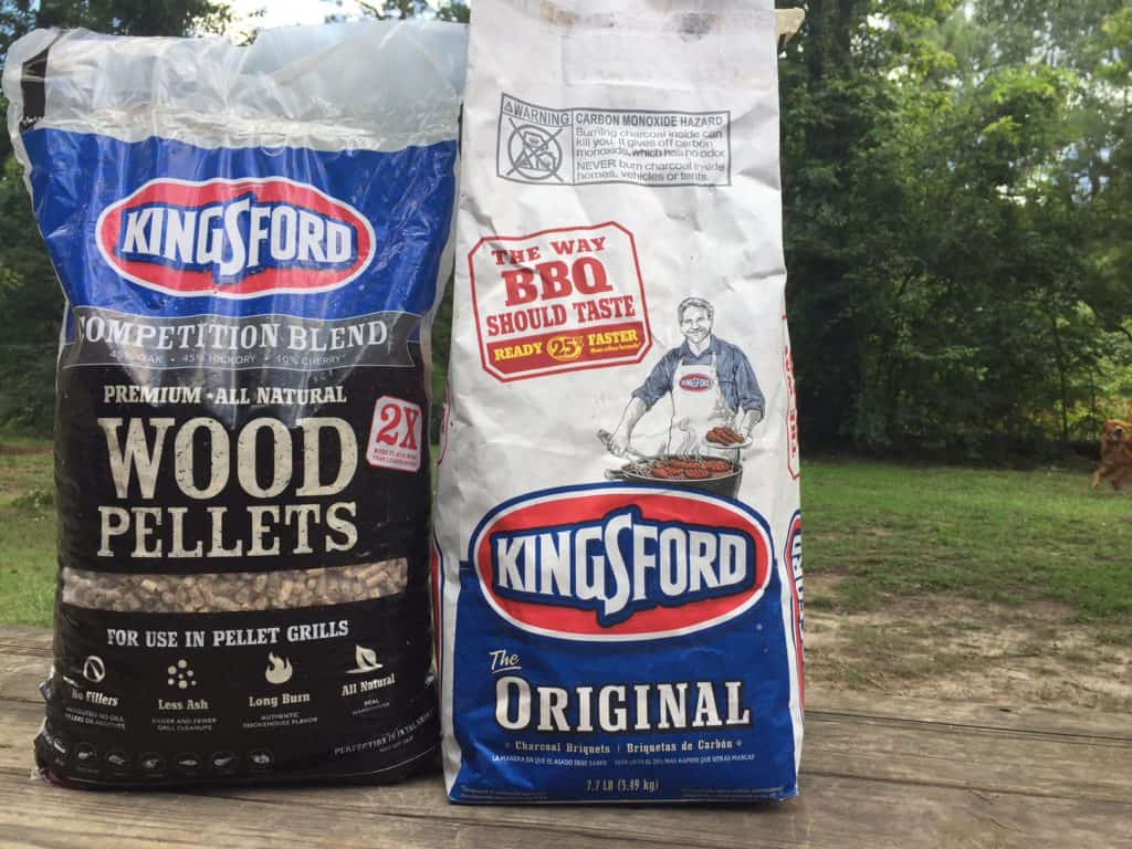 Kingsford Wood Pellets and Charcoal