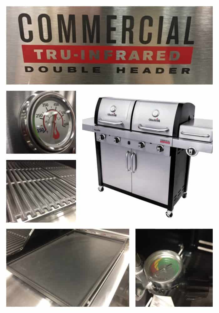 Char Broil Double Header Infrared Grill Review