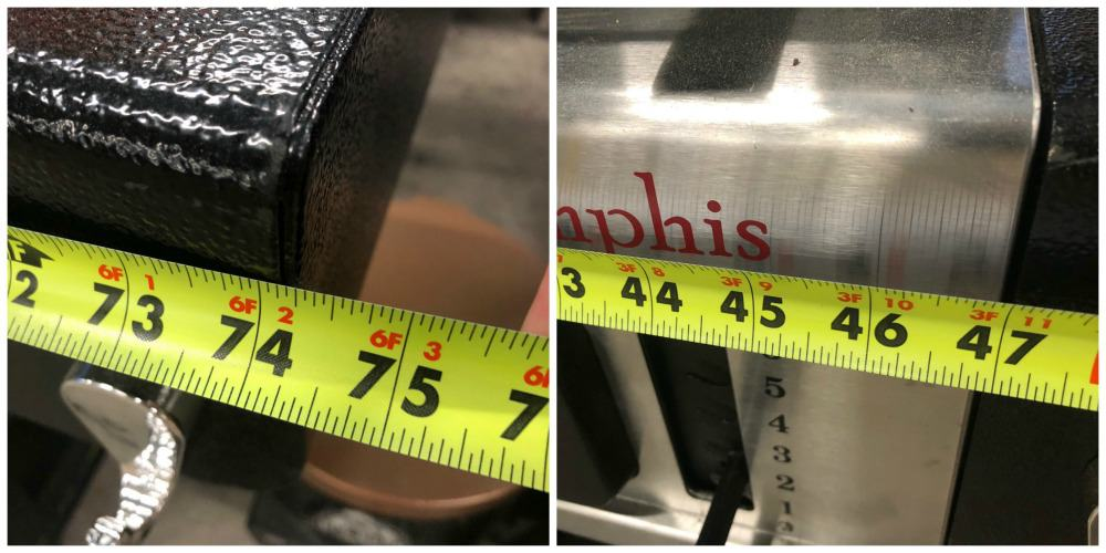 Memphis Grill Length