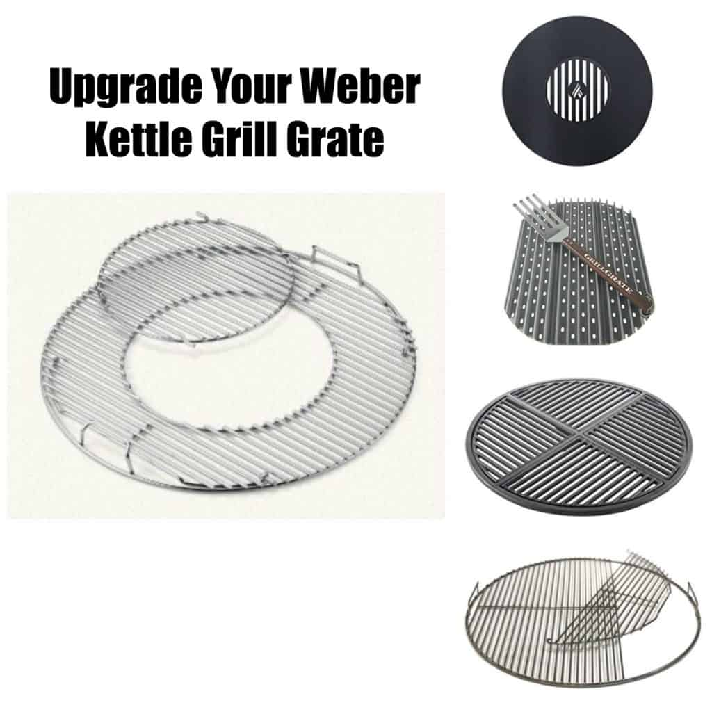 Weber Kettle Grill Grate Upgrades