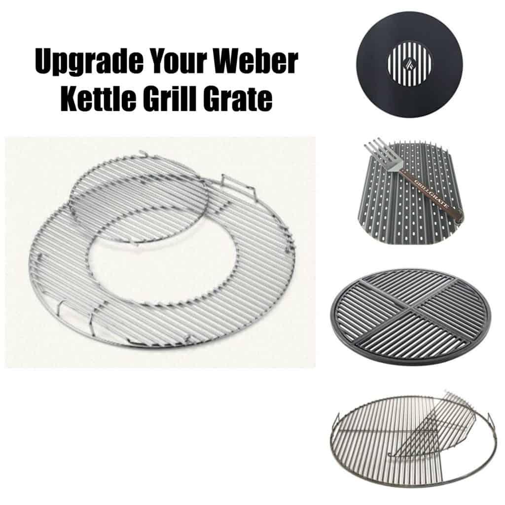 Weber Kettle Grill Grate Upgrades