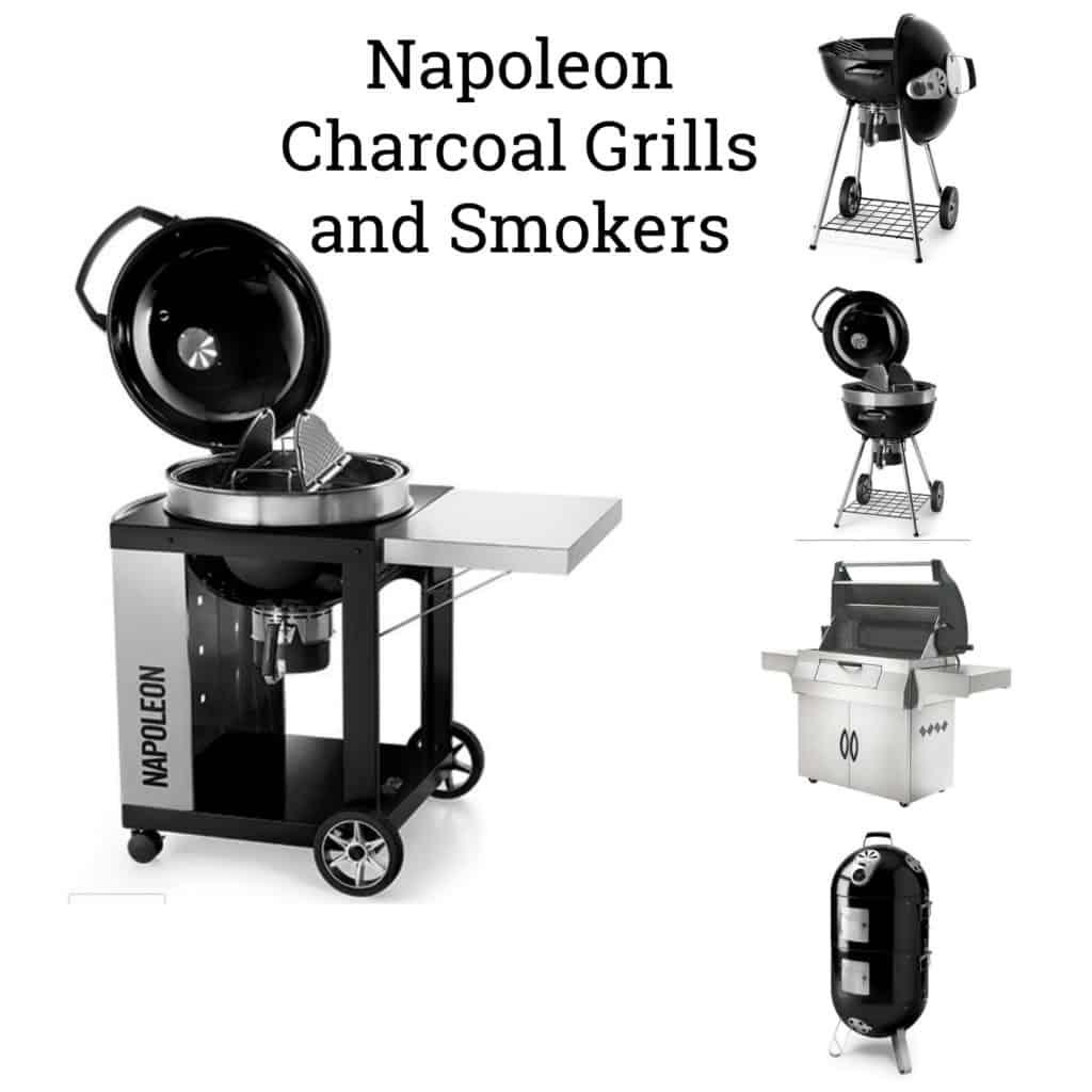 Napoleon Charcoal Grills and Smokers