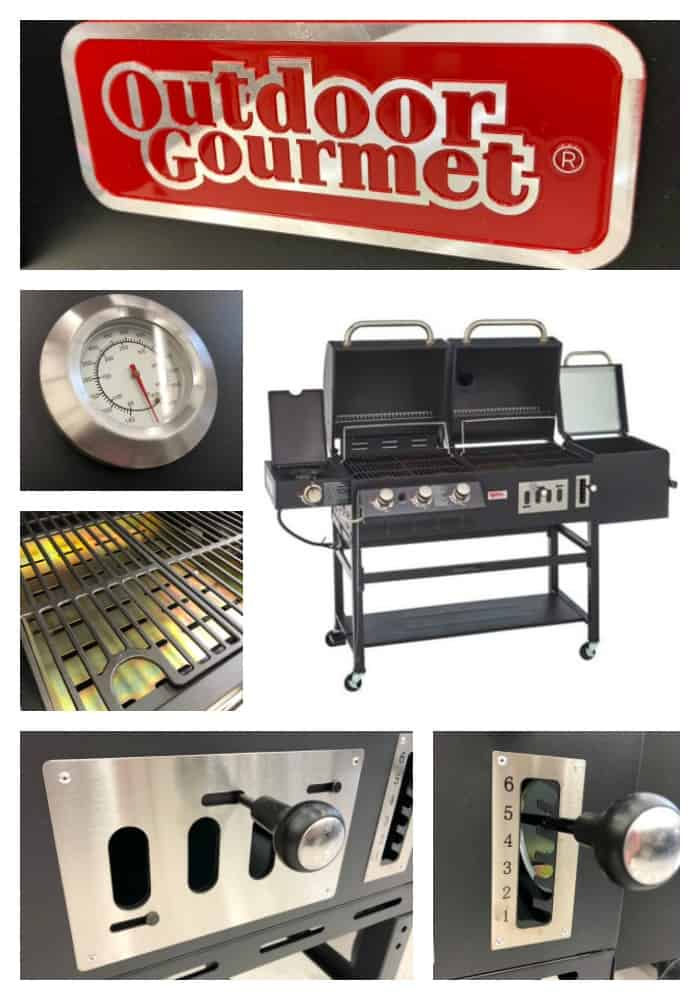 Triton Combo Grill and Smoker