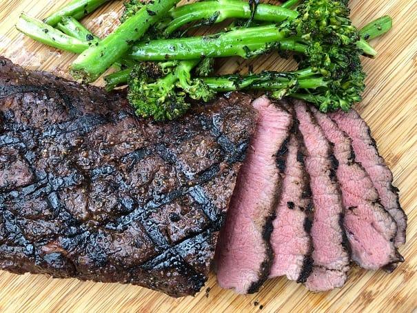 Sliced Flat Iron Steak
