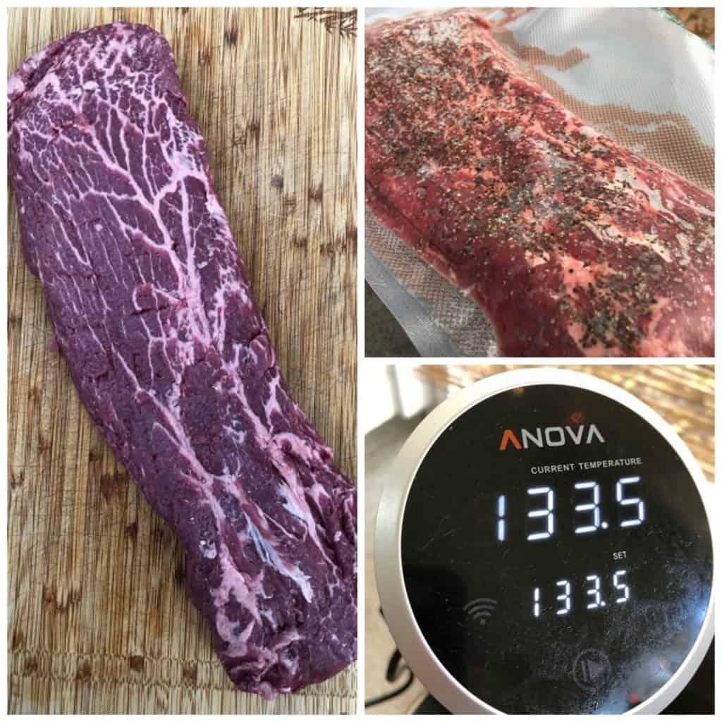 Sous Vide Flat Iron Steak