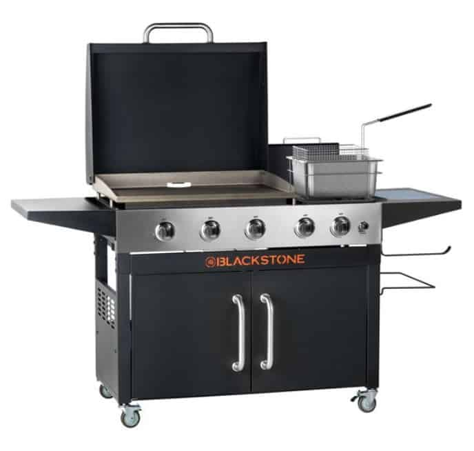 28 inch combo griddle deep fryer