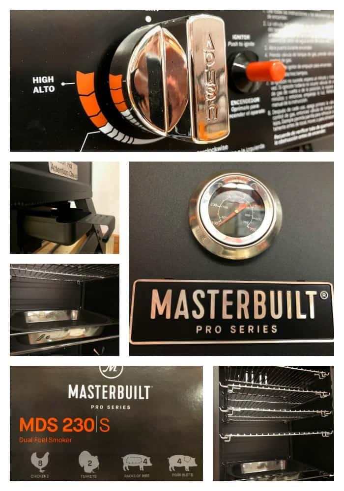 Masterbuilt Dual Fuel Smoker