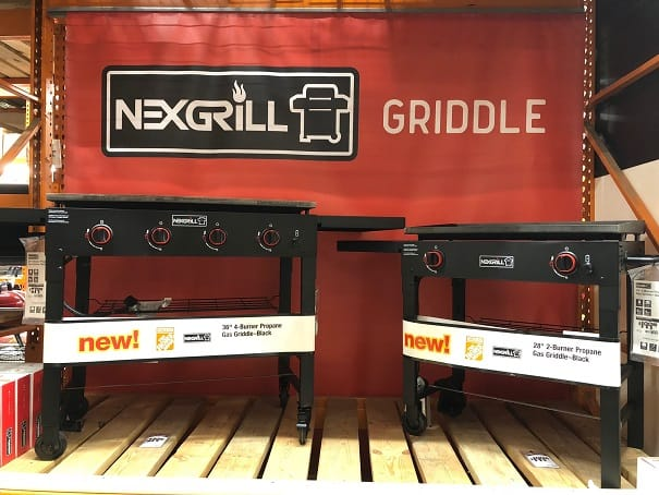 Nexgrill 28 and 36 inch griddles