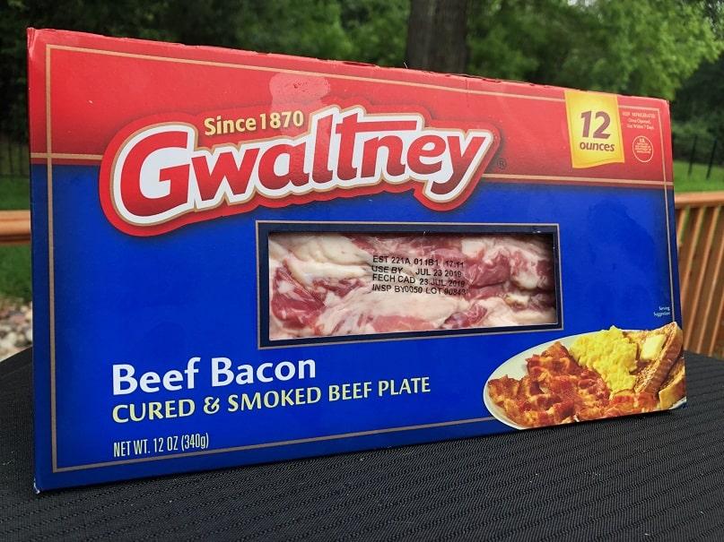 Gwaltney Beef Bacon